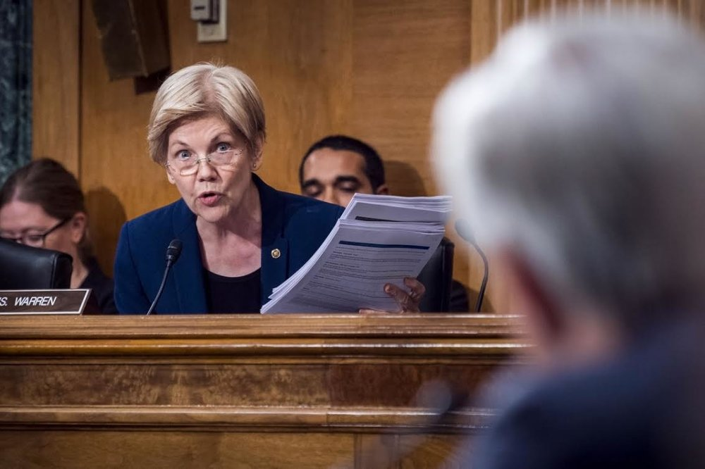 Sen. Elizabeth Warren Grills Wells Fargo CEO John Stumpf