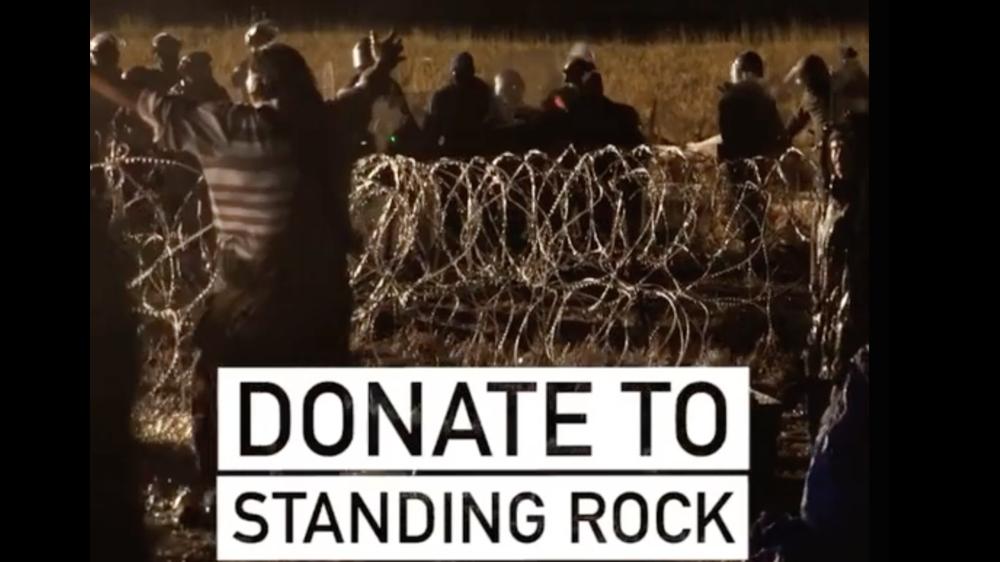 STANDING WITH STANDING ROCK: Rashida Jones