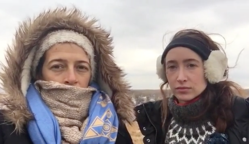 STANDING WITH STANDING ROCK: Amy Woodruff