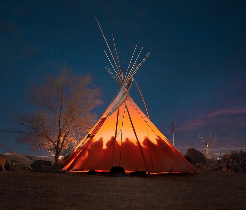 STANDING WITH STANDING ROCK: Tomás Karmelo