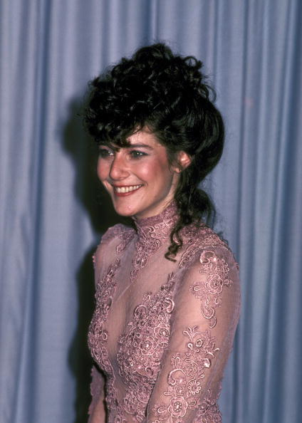 With a sheer bodice of dusky rose lace and flushed cheeks, Debra Winger was at her prettiest at the 54th Annual Academy Awards on March 29, 1982.