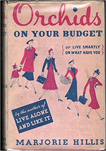 """Orchids on Your Budget"" by Marjorie Hillis (1937 ed.), $30.00"
