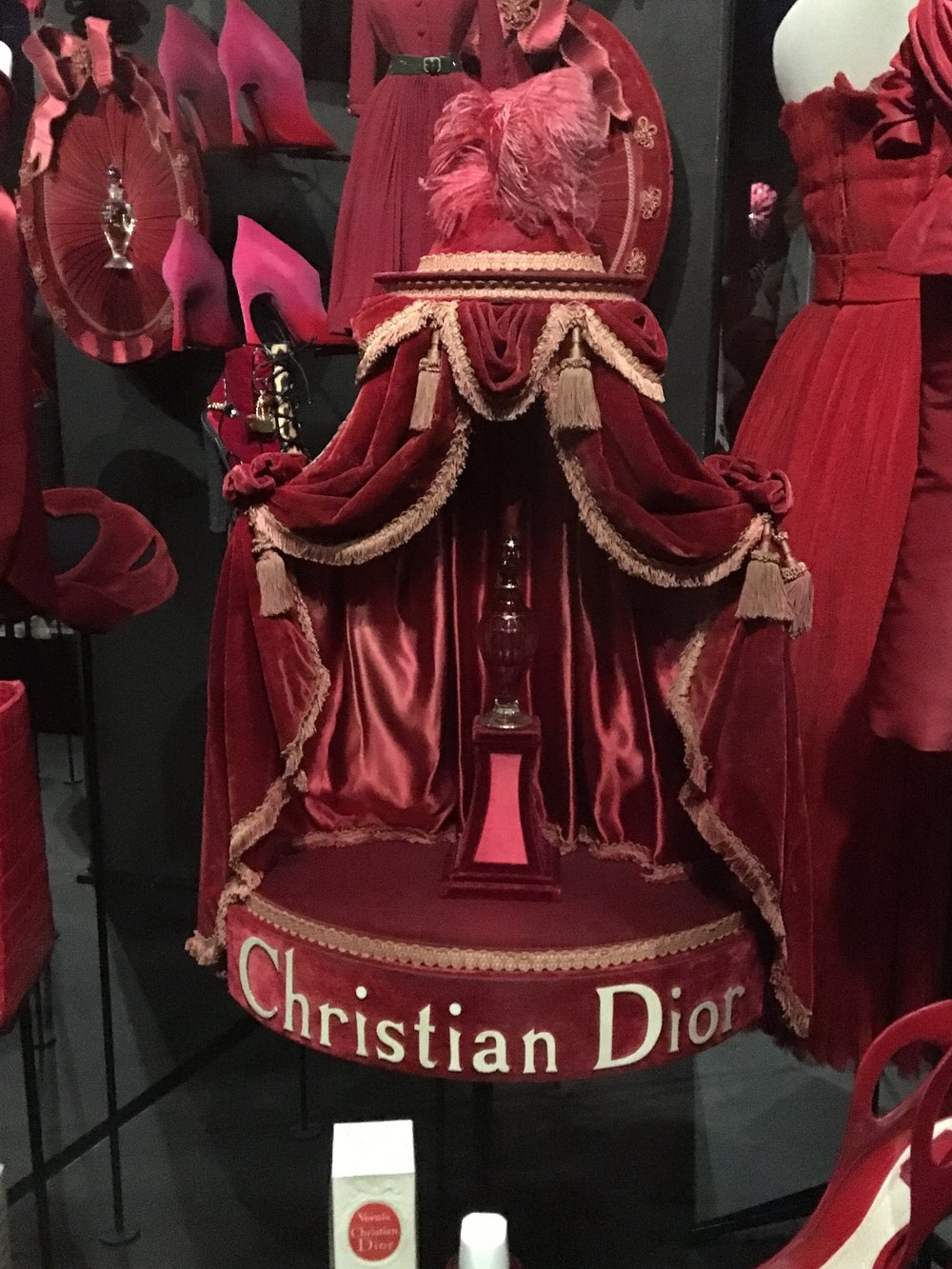 Miss Dior display case by Victor Grandpierre, 1950