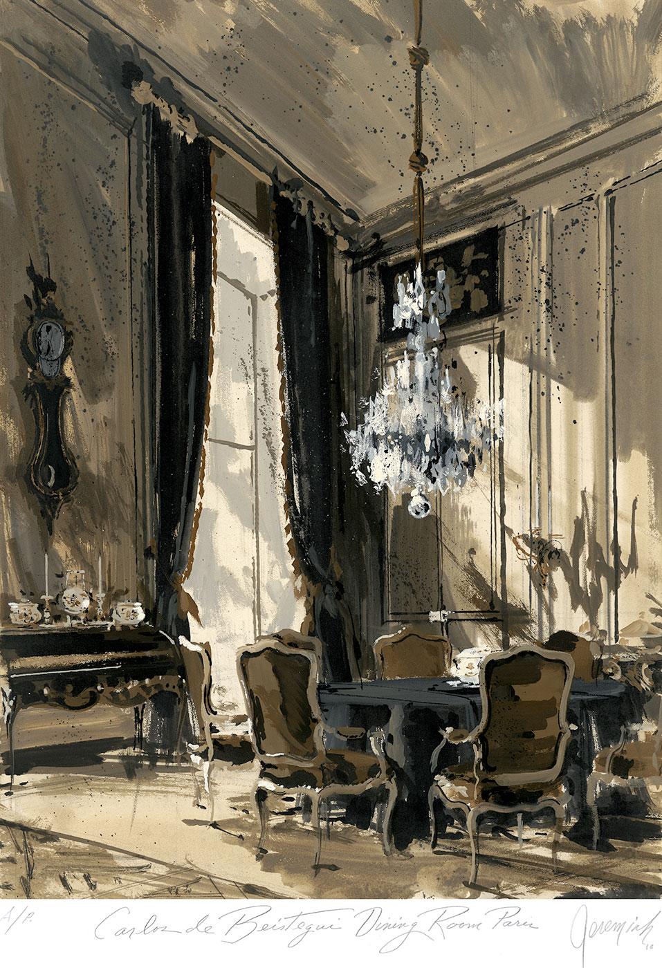 Carlos de Beistegui's dining room