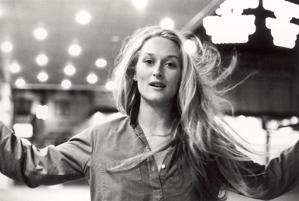 Meryl Streep by Duane Michals, 1975.