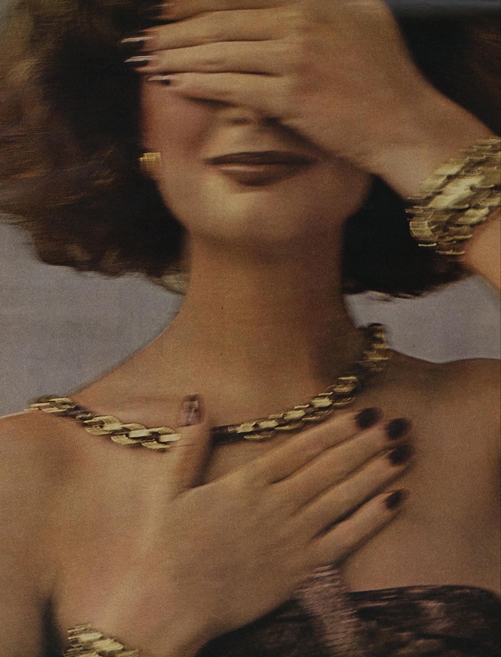 Beauty for Vogue, October 1975.