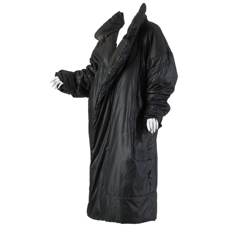 Iconic Norma Kamali Sleeping Bag Coat $1,800