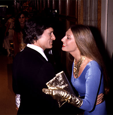Hugh Hefner and Marilyn Cole.