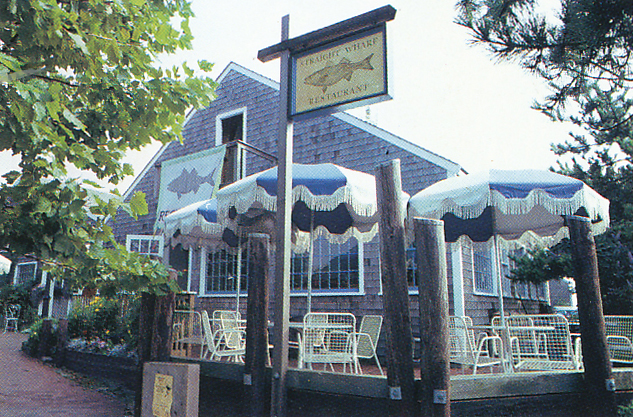 The Straight Wharf Restaurant in Nantucket, where Marion was the chef for many years. From 'The Victory Garden Cookbook', 1982.