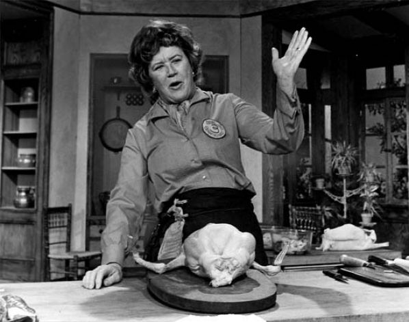 Cooking Roast Goose with Julia Child