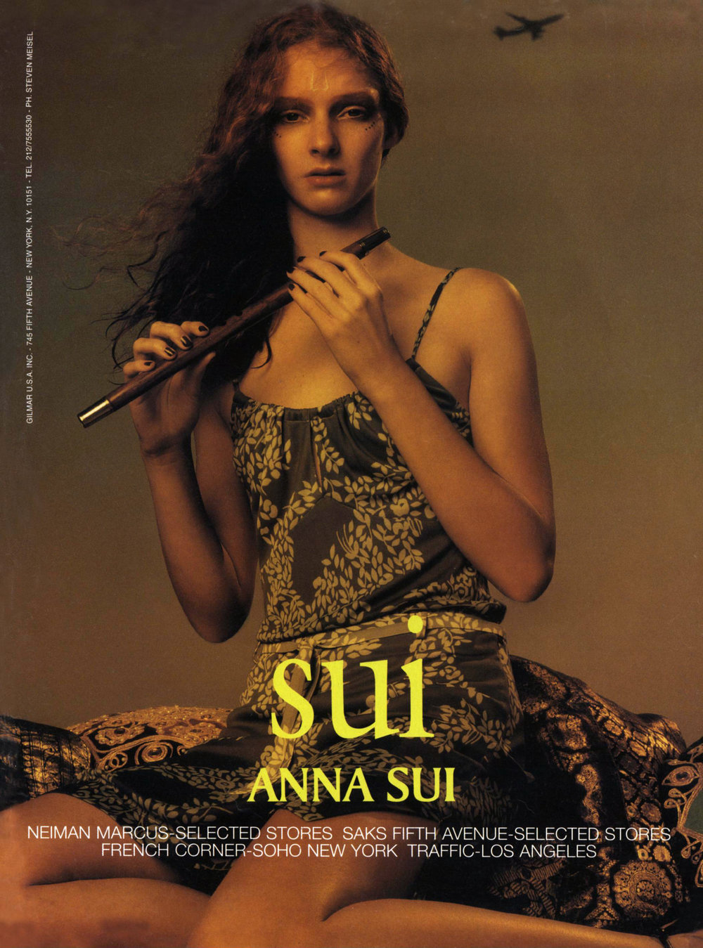 "An ad for ""Sui"", her diffusion line, for spring 1998."