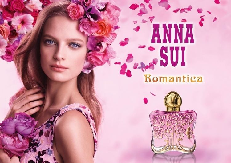 "Anna Sui ""Romantica"" perfume, which launched in 2015."