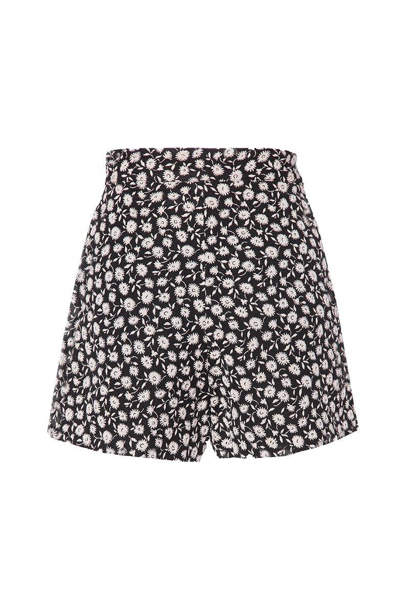 Midnight Daisy Jacquard Short $299