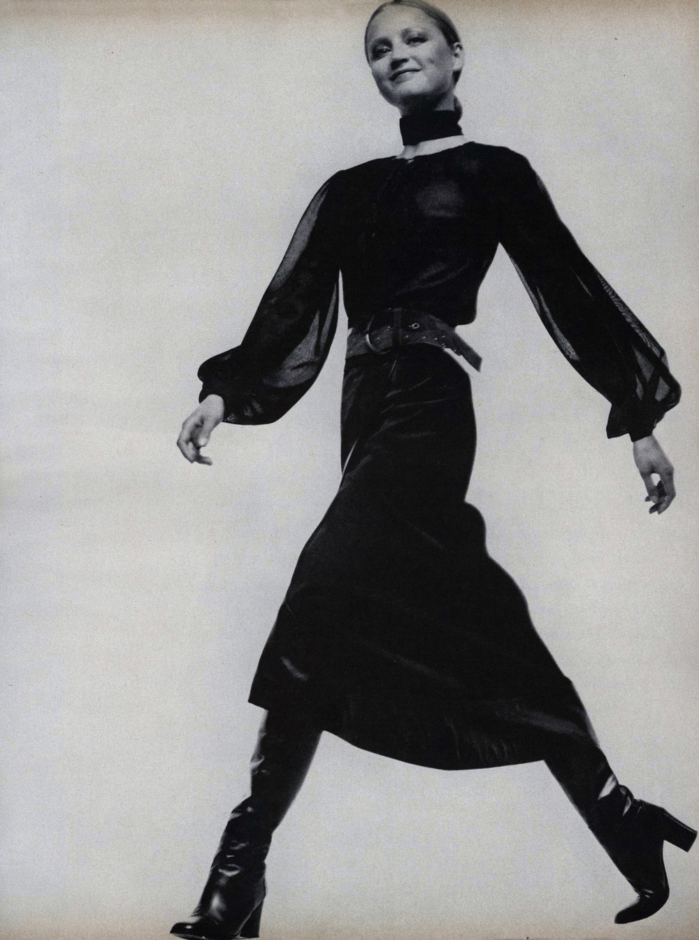Ingrid by David Bailey. Vogue, October 15th, 1970.