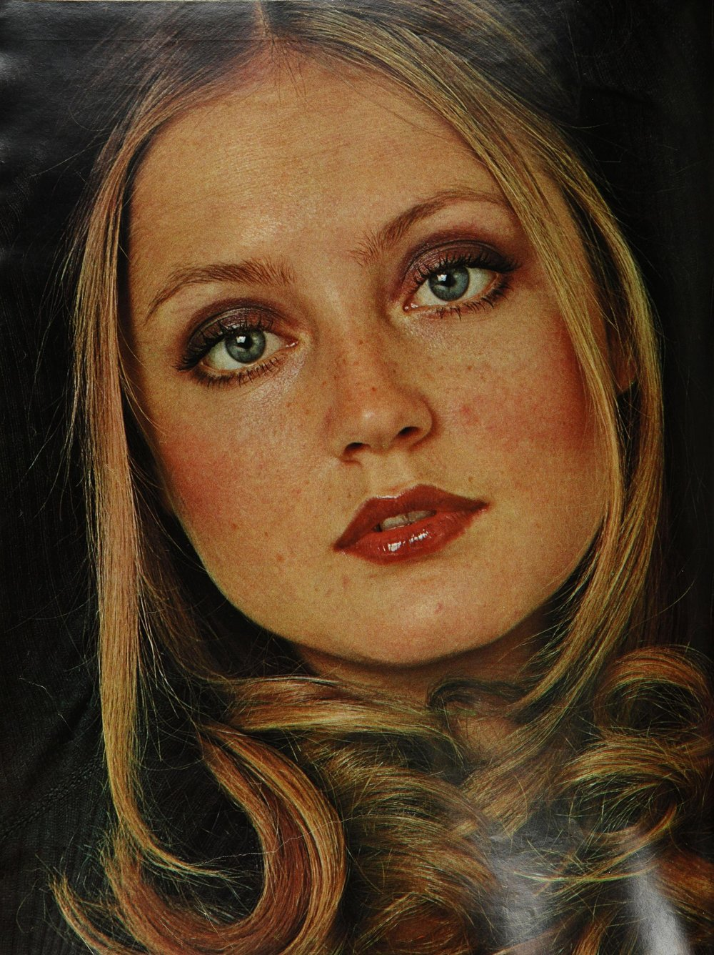 Ingrid photographed by Carmen Schiavone for Seventeen, July 1971.
