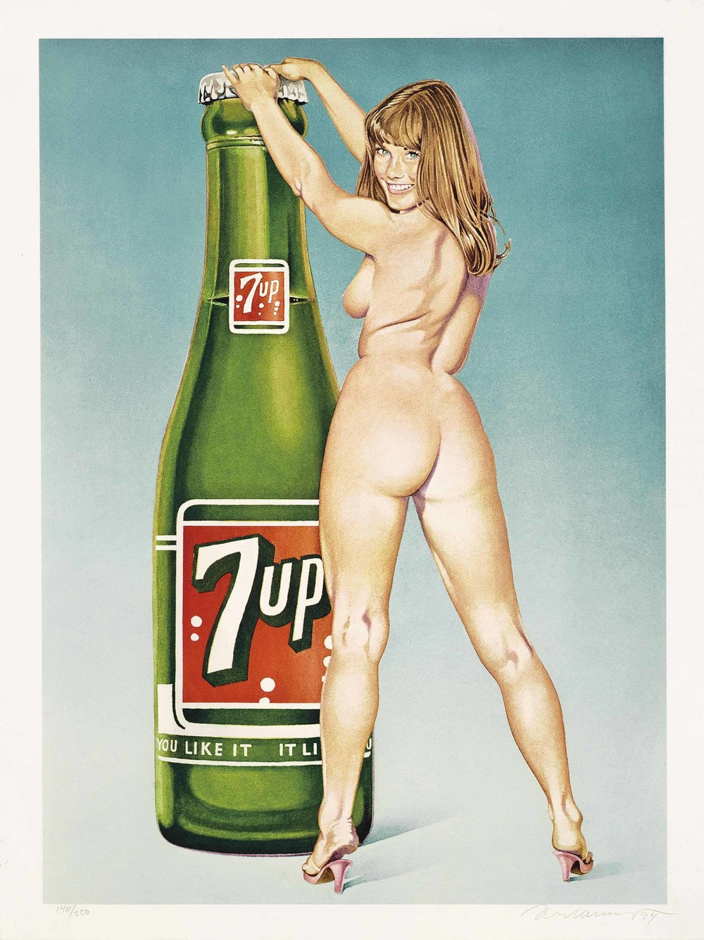 """You Like it - it Likes you (7Up),"" 1994."