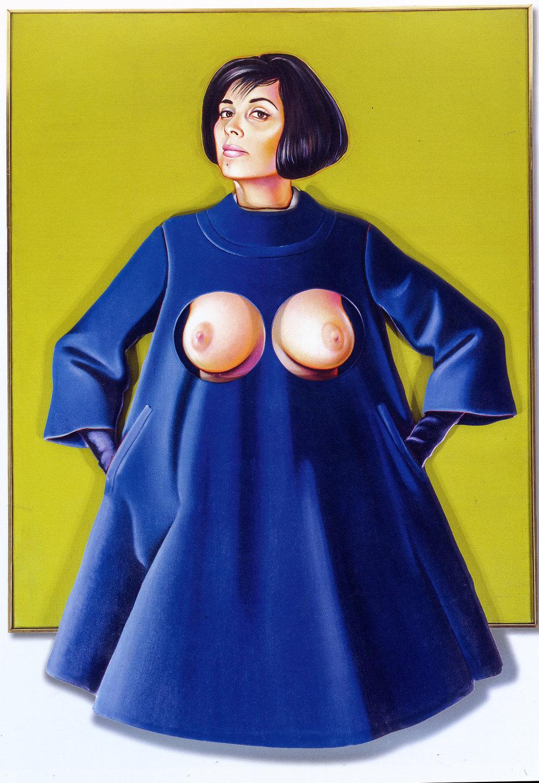 """Blue Coat,"" 1966."