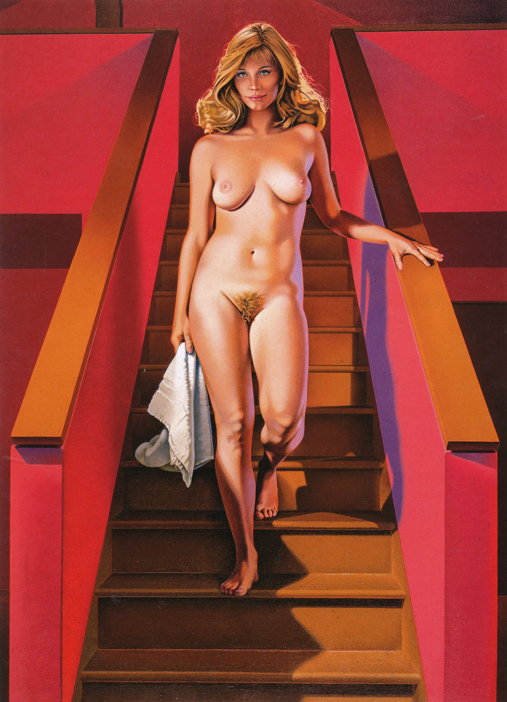 """Nude Descending a Staircase,"" 1989."