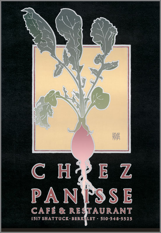 CHEZ PANISSE 26th ANNIVERSARY (RADISH),  July 30, 1997