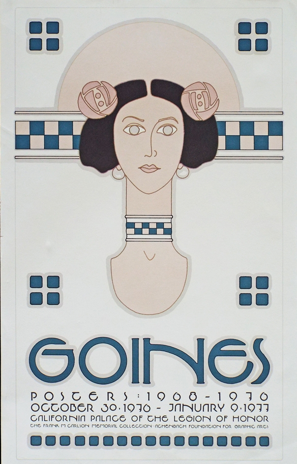 'David Lance Goines Poster Book' (1981)  $16