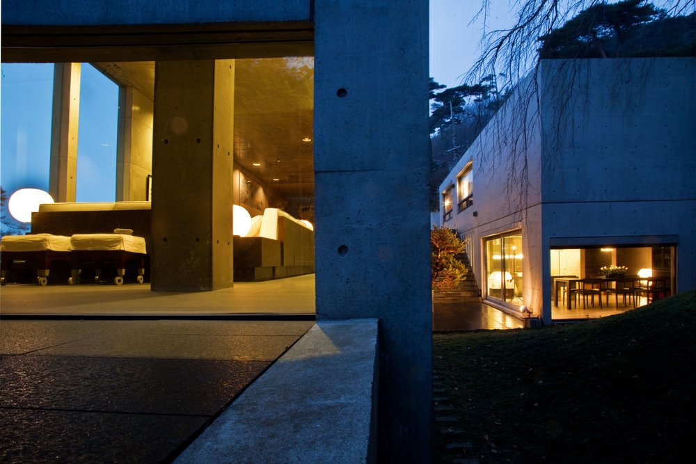 Koshino House by Tadao Ando. Courtesy of Hiroko Koshino. Photo by Michael Fraile, 2011.