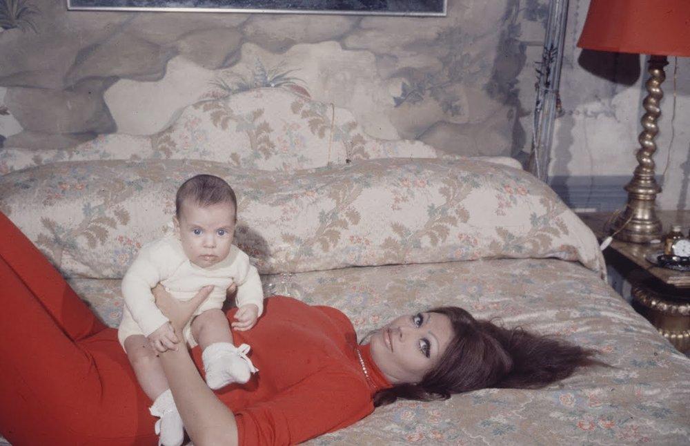 SOPHIA AND BABY 1969.jpg