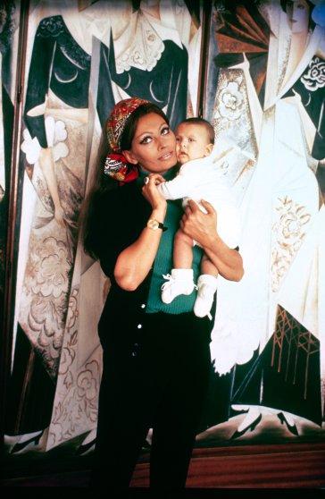 Sophia Loren with her son Carlo Ponti Jr., 1969..jpg