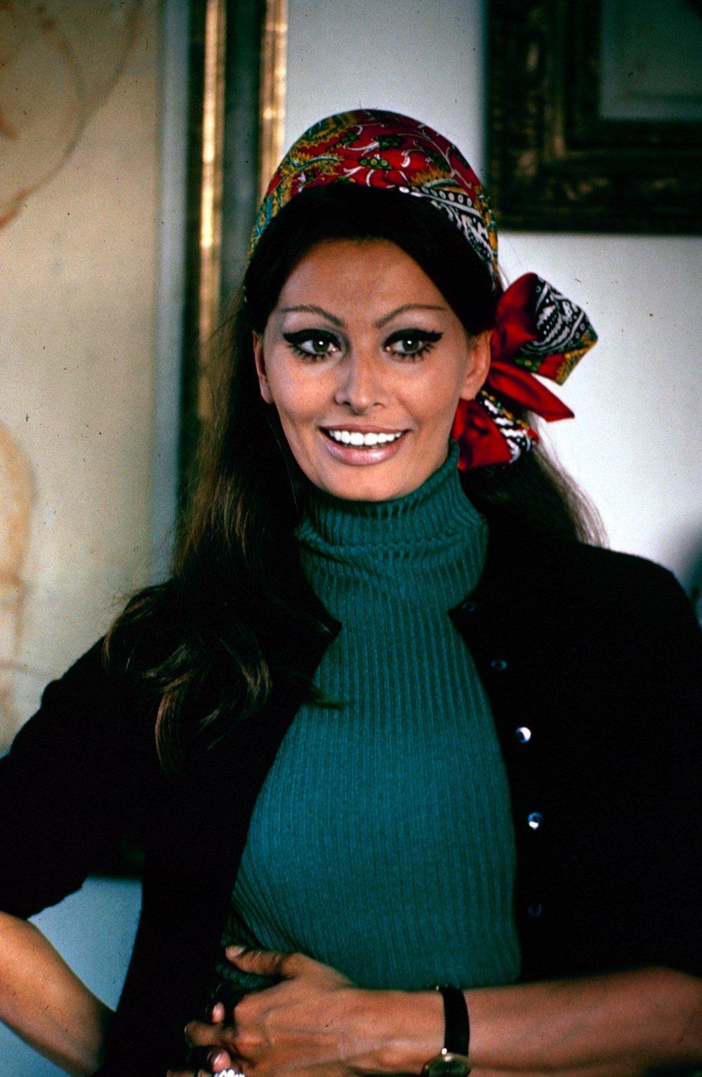 Sophia Loren is Our Lady