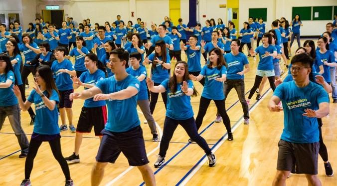 嘉威運動會:展現員工團结向上、奮勇拼搏的精神樣貌。
