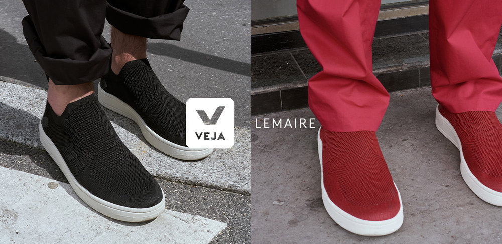 Veja x Lemaire的設計鞋款, Photo credit: Veja 官網