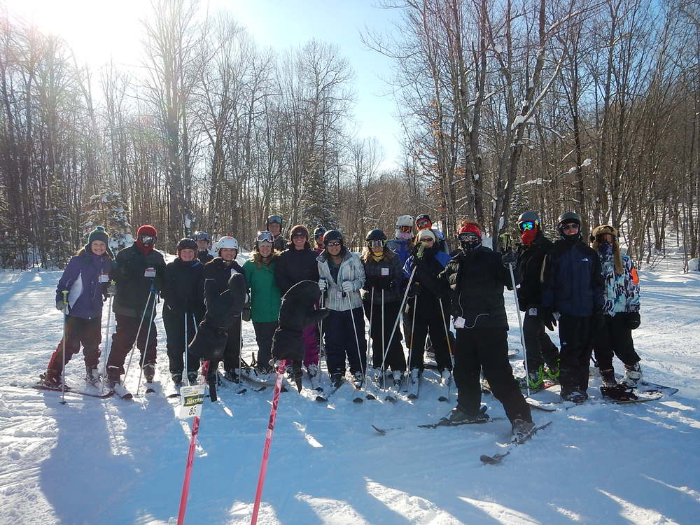 High School Ski Retreat, 2014