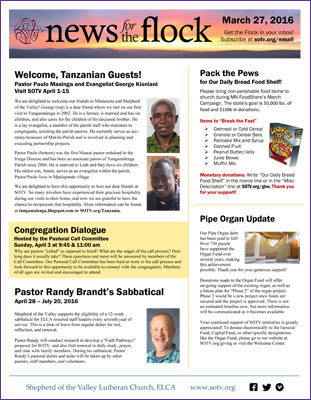 Download Weekly Newsletter