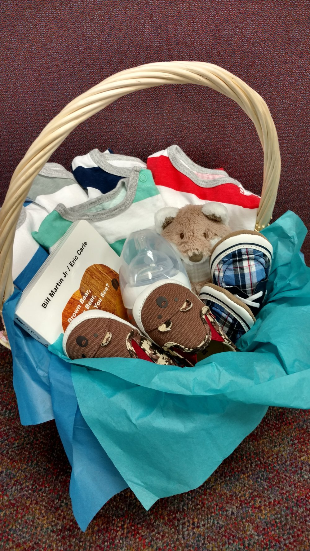 Look at this cute Baby Items Basket someone made this week!