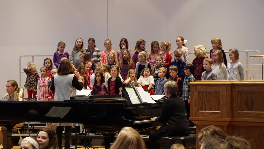 Children's Choir on Sunday
