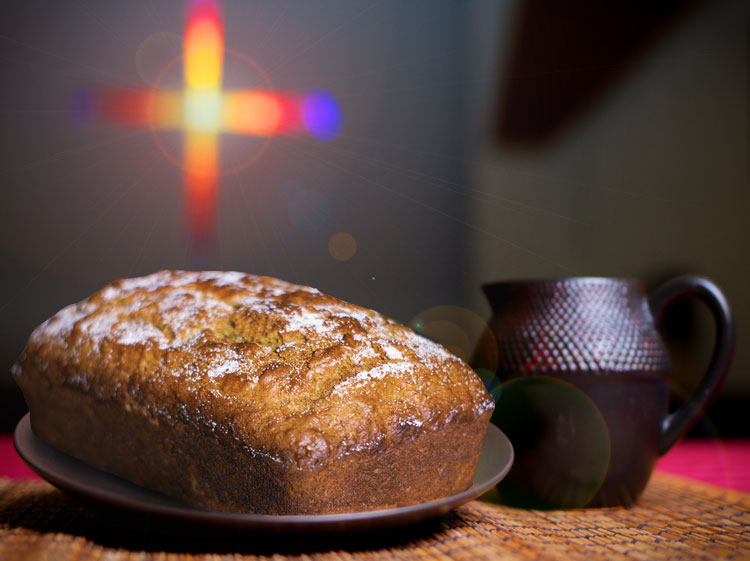 Breaking Bread - Come hungry for good food and good news!