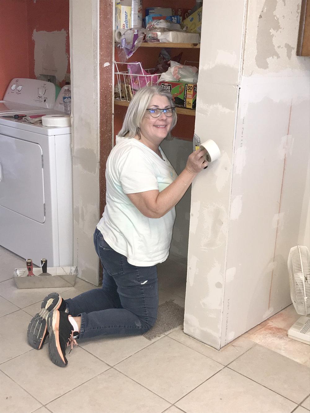 Rebuilding the pantry.jpg