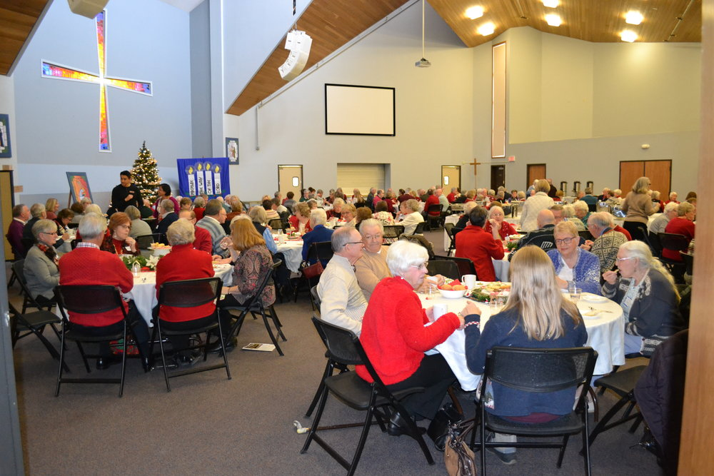 "Senior's ""Deck the Halls"" Luncheon"