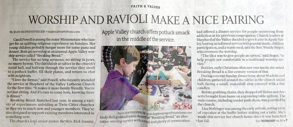 Breaking Bread article in Star tribune.jpg