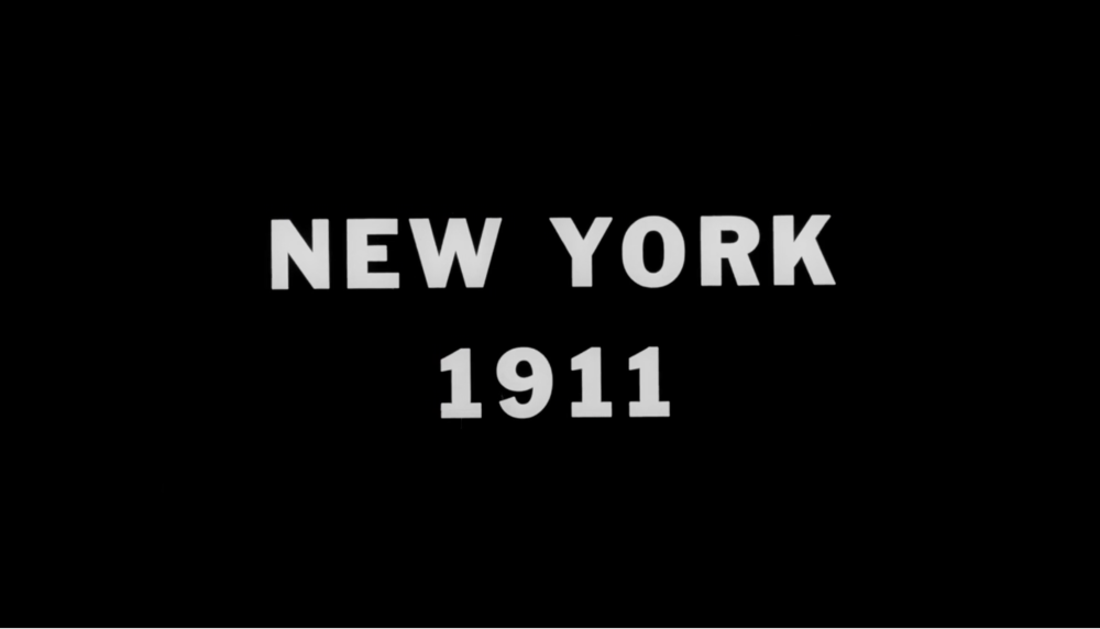 MoMA's restoration of New York 1911is derived from the original nitrate print of the film.