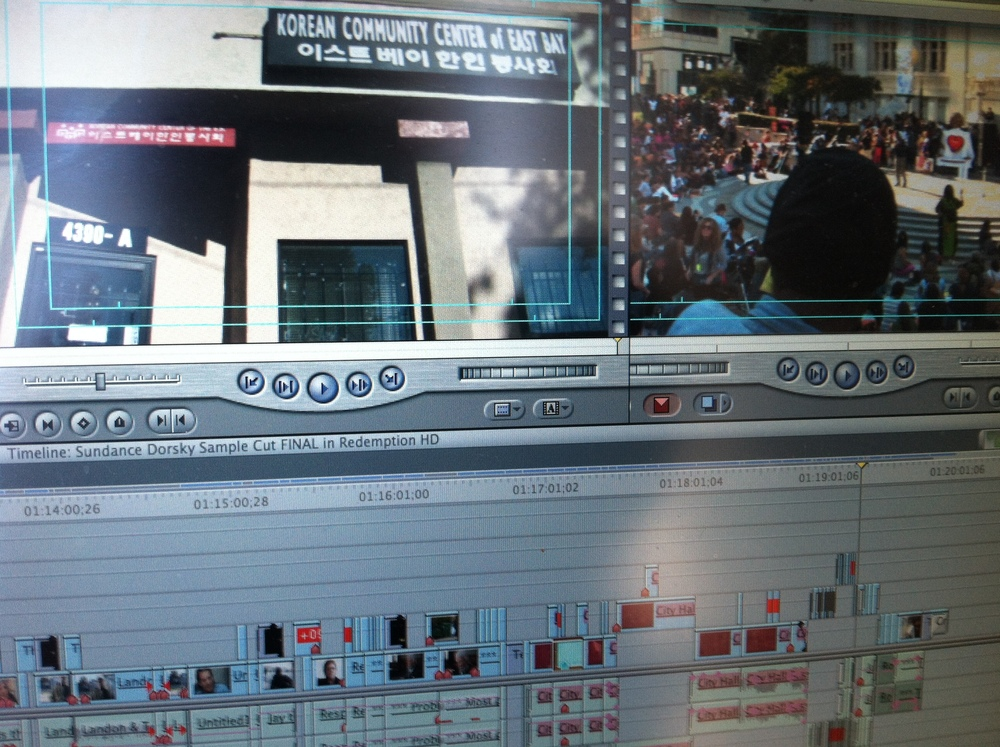 Editing DOGTOWN REDEMPTION in Final Cut