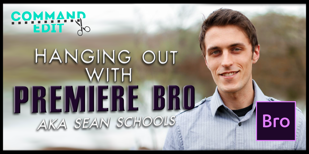 Interview with Premiere Bro Sean Schools about his Adobe resource site