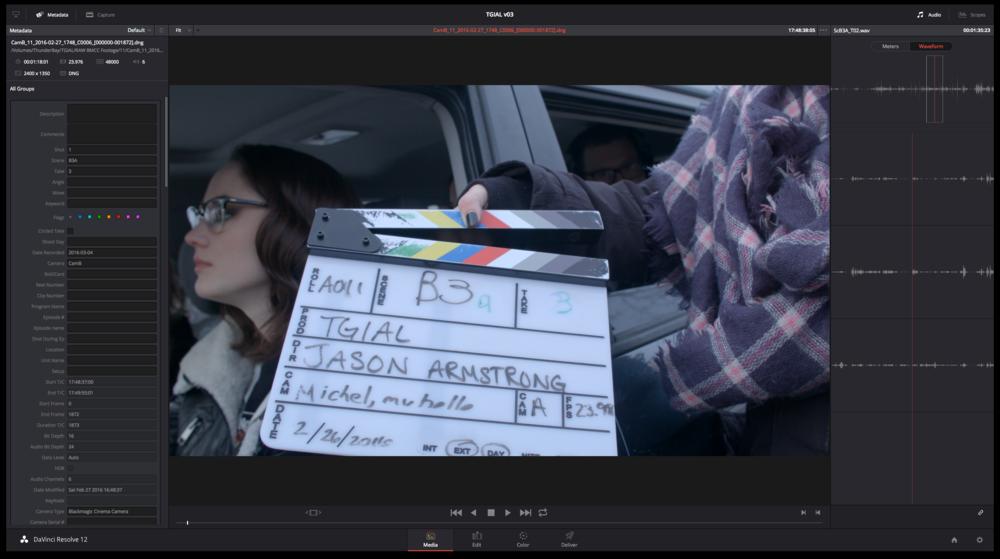Correcting metadata from BlackMagic Cinema Cameras in Resolve