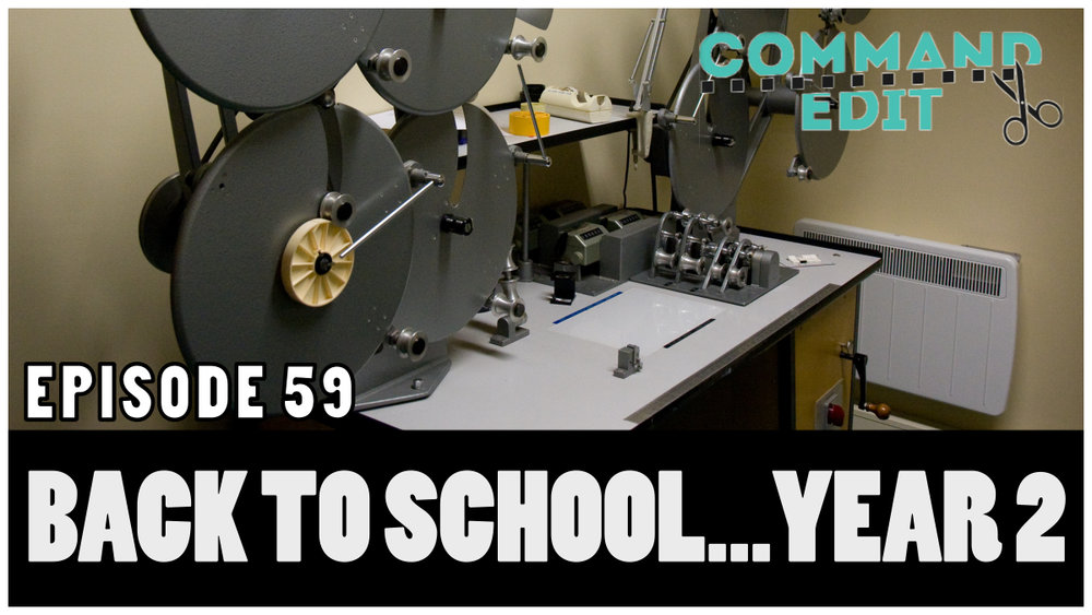 Episode 59 of Command Edit Podcast Back to school how to learn new applications