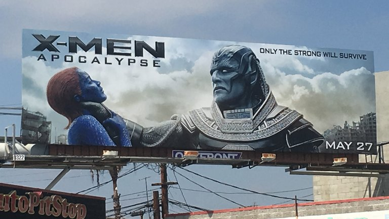 Controversy over X-men Apocalypse billboard