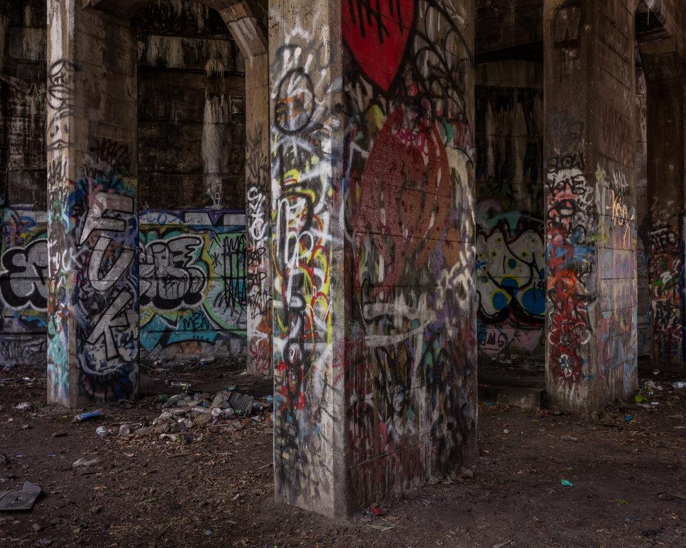 Graffiti Pier - Philadelphia, Pennsylvania