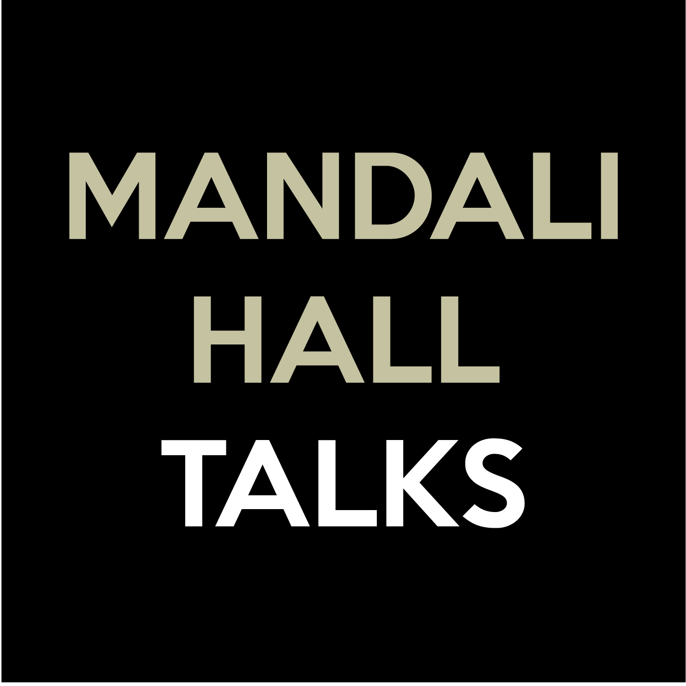 Podcasting - Mandali Hall Talks