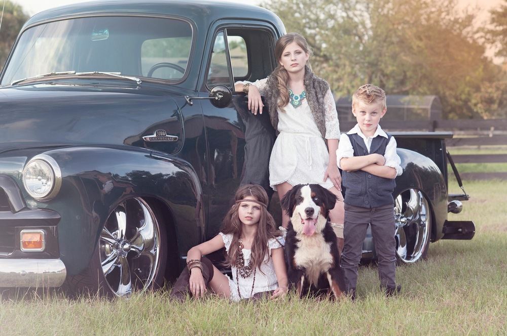 "Lexie, Emme, Preston, & ""Roxy"" Marshall"