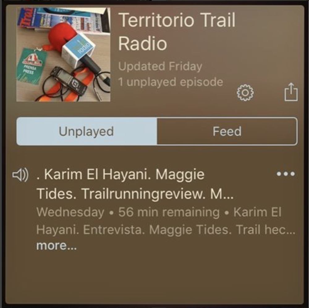 Territorio Trail Radio