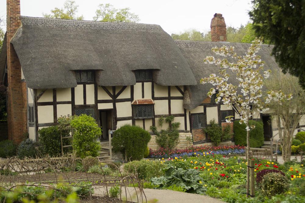 Anne Hathaway's Cottage & Gardens.