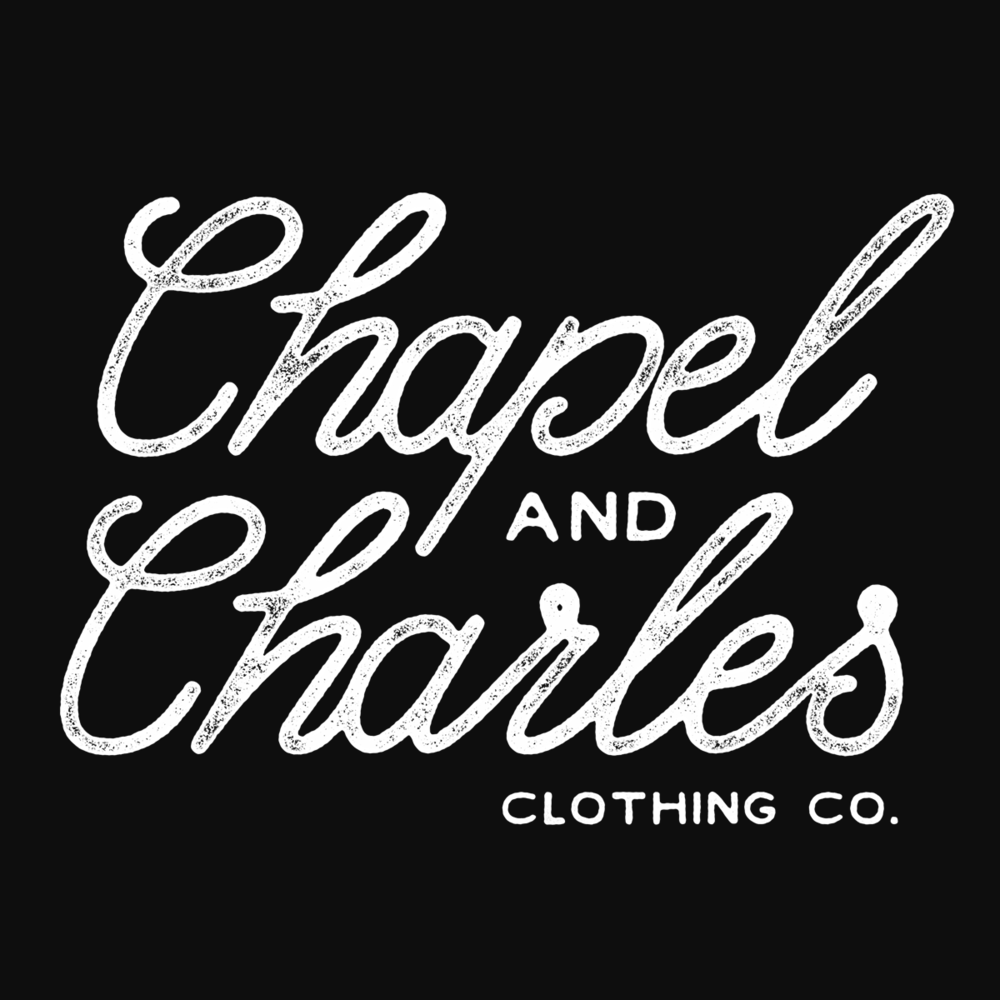 Chapel & Charles - Branding and Merchandise Design